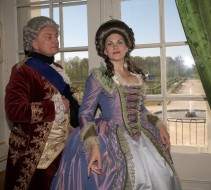 Historical costumes in the Rundale Palace